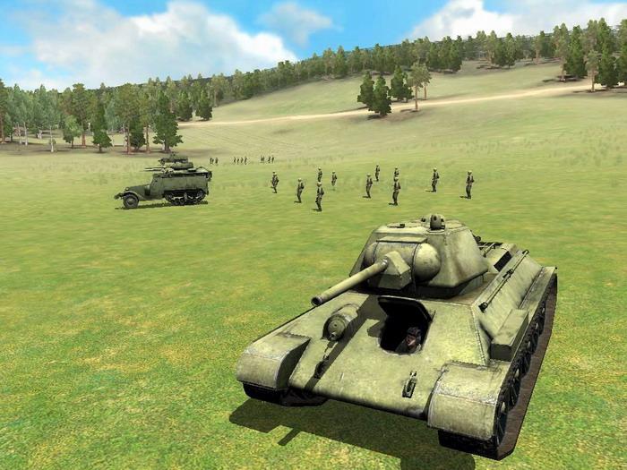 Инструкция т 34 против тигра