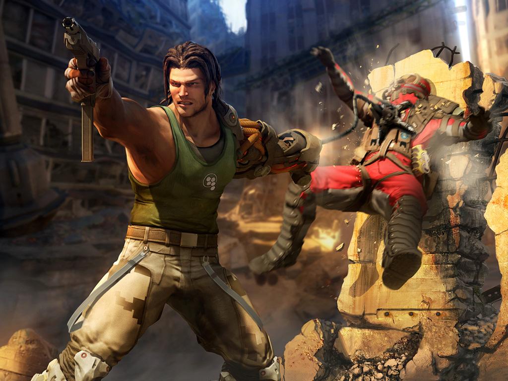 скачать игру Bionic Commando через торрент - фото 7