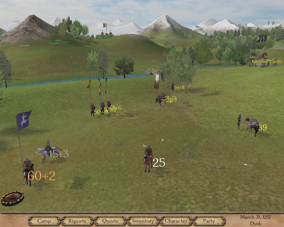 Прохождение игры mount and blade