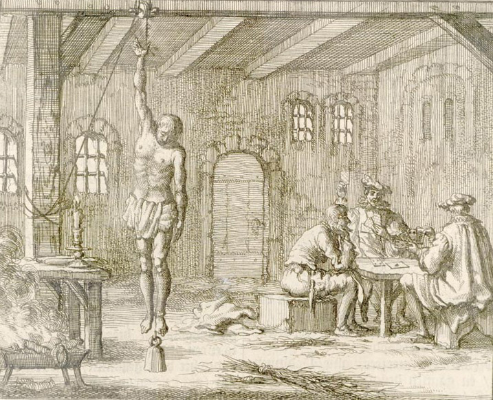 Пытки инквизиции рисунок